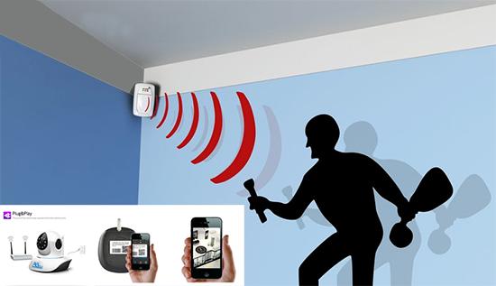 Camera báo động Nichietsu - Giúp bảo vệ tài sản và tính mạng cho người sử dụng