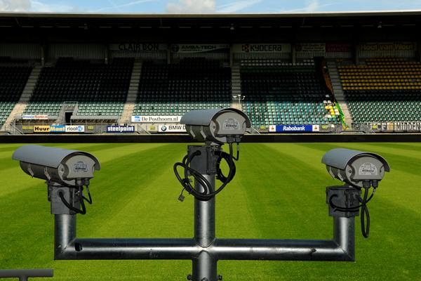 Lắp đặt camera quan sát sân bóng đá